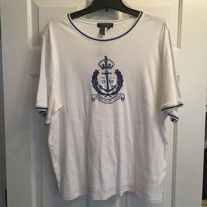 RL (Lauren) Tee Shirt SZ 2X. NWT